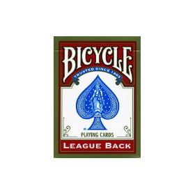 Bicycle League Back Red