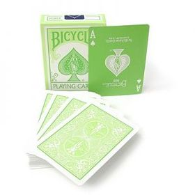 Bicycle Fashion Green Deck