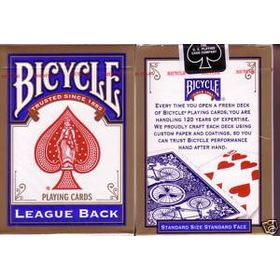 Bicycle League Back Blue